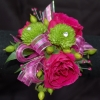 Hot Pink and Lime Corsage - Premiere
