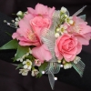 Pink Rose and Alstromeria Corsage - Premiere